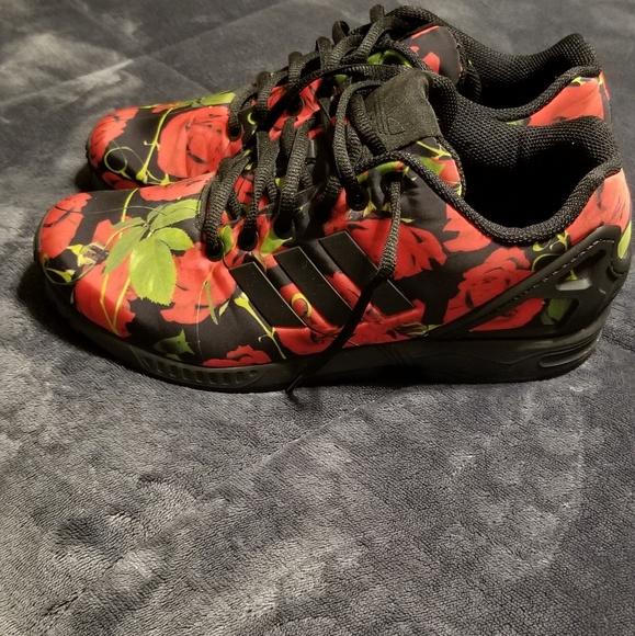 adidas torsion zx flux rose